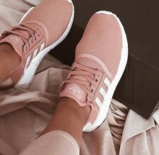 NEW WOMEN'S ADIDAS NMD R1 RUNNER RAW PINK SALMON ROSE PEACH BOOST SIZE 7.5 EU39