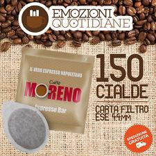 150 Cialda ESE caffè MORENO ESPRESSO BAR PER BIALETTI MOKONA CF40 OFFERTA