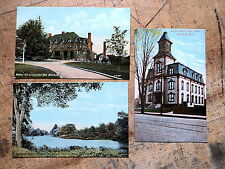 3 Natick Ma 1908s Walnut Hill School Charles River High school