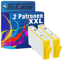 2er-PACK YELLOW con CHIP ProSerie per HP 920 XL OFFICEJET 6000 SPECIAL EDITION
