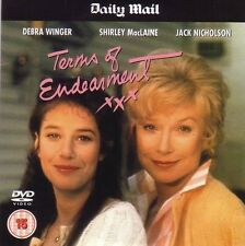 DVD Daily Mail Promo TERMS OF ENDEARMENT ROMANTIC COMEDY FILM Shirley MacLaine