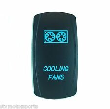 POLARIS RZR XP1000 BACKLIT LASER BLUE ROCKER SWITCH COOLING FANS UTV ATV