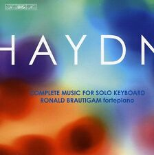 Complete Music For Solo Keyboard - J. Haydn (2010, CD NIEUW) Brautigam*Ronald