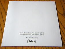 """CREEDENCE CLEARWATER REVIVAL - 45 REVOLUTIONS PER MINUTE   7"""" VINYL PROMO PS"""