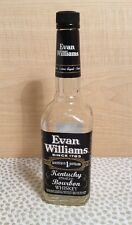 Empty Clean Decorative Evan Williams Bourbon Whiskey Bottle �� Empty Bottle Only