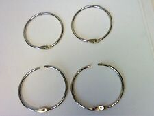 "4 x TWINLOCK METAL lock-in 2"" RING FOR BOOK BINDING ALBUM-MULTI PURPOSE USE-50mm"