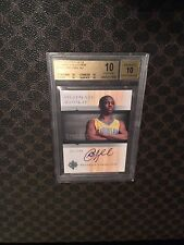CHRIS PAUL 2005-06 ULTIMATE BGS 10 RC AUTO - PERFECT 10 - 10x5 - ALL 10 Subgrade