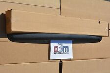 2007-2013 GMC Sierra BLACK Upper Grille Front Hood Edge TRIM MOLDING new OEM