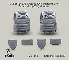 Live Resin 35124 1/35 BAE System IOTV Improved Outer Tactical Vest with Torso