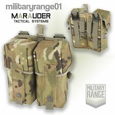 Marauder Double Ammo Pouch - Para PLCE - British Army MTP Multicam - UK Made