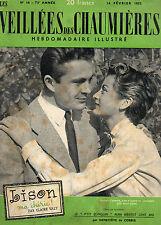 VEILLEES DES CHAUMIERES N°16  - 1953 - LISON MA CHERIE !, par Claire VALY