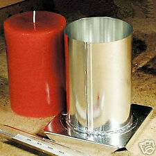 ROUND PILLAR Candle Mold (3 inches x 4-1/2 inches Tall)