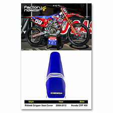 2009-2012 HONDA CRF 450 Troy Lee Designs Adidas SEAT COVER BY Enjoy MFG