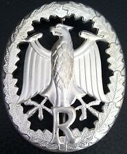 ✚0597✚ German Bundeswehr Military Proficiency Badge SILVER for RESERVIST