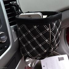 Auto Car Air Outlet Phone Holder Multi-Use Pocket Storage Pouch Bag Organizer