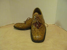 Skins -  Made in Italy - Men's Dress Shoes - Size:10 Croc & Ostrich Skin shoes