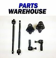 6Pc Kit Ball Joints Inner Outer Tie Rod Ends For Corolla Prizm 93-95 1Y Warranty
