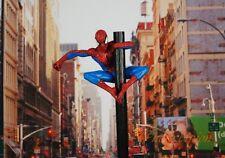 MARVEL SUPERHERO Amazing SPIDER-MAN Peter Parker Cake Topper Figure Model K1223E