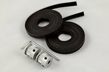 GT2 Belt and Pulley Set for 3D Printers (reprap, Prusa, MendelMax)