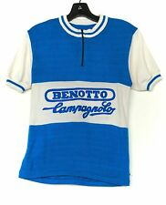 Vintage BENOTTO CAMPAGNOLO Bicycle Jersey Shirt Short Sleeve Cycling 60s