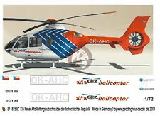 Peddinghaus 1/72 EC135 T2+ Czech Alfa Air Rescue Helicopter Markings OK-AHC 1825