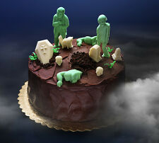 Dead Zombie Halloween Candy/Ice/Chocolate Character Mold Coffin Tombstone & More