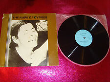 THE RAPE OF CYPRUS-A DOCUMENTARY-LP VG+/A-EX+ B-MINT/CBC ENG 1/AQ BQ/1975