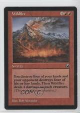 1998 Magic: The Gathering - Portal Starter Set 2nd Age #NoN Wildfire Card b5r