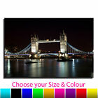 London Bridge Single Canvas Wall Art Picture Print 7 CANVAS CULTURE