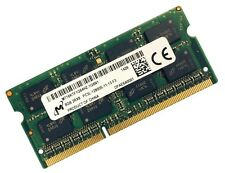 8GB Micron DDR3L SO DIMM Notebook RAM 1600 Mhz PC3L-12800S 204 pin
