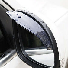 2x Auto SUV Rearview Side Mirror Water Guard Rain Board Eyebrow Sun Visor Shield