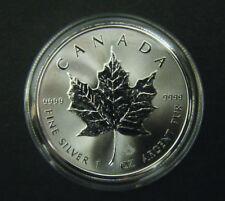 2016 Canada $5 1oz Silver Maple Leaf Bullion Coin .9999 Fine BU dollar round