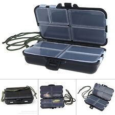 Durable Small Fishing Tool Box Tackle Lure Spoon Hooks Case Accessories Storage