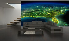 EARTH FROM SPACE STATION Wall Mural Photo Wallpaper GIANT DECOR Paper Poster