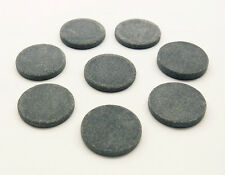 HOT STONE MASSAGE: Set of 8 Round Basalt Stones 4 x 0.65cm