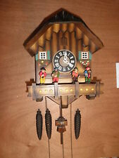 German made musical Oompah Band 1 Day Cuckoo Clock CK1085