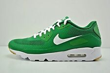 Men Nike Air Max 90 Ultra Essential Running Shoes Size 12 Green White 819474 301