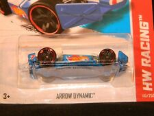 HW HOT WHEELS 2013 HW RACING #110/250 ARROW DYNAMIC INDY CAR HOTWHEELS WH VHTF