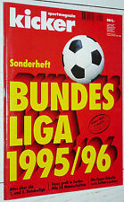 KICKER FUSSBALL BUNDESLIGA 1995-1996 SONDERHEFT GUIDE BORUSSIA DORTMUND FOOTBALL