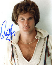 DAVID HASSELHOFF In-Person Signed Pic w/ SuperStars Gallery (SSG) COA - PROOF a