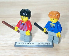 Lego Minifig Harry Potter & Ron Weasley Minifigures 4708 4728 NEW Condition!