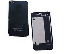 Iphone 4 4G Replacement Back Battery Cover Glass Plate Housing Cover Case Black