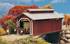 3652 Walthers Cornerstone Willow Glen Covered Bridge HO Scale Kit