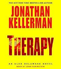 THERAPY by Jonathan Kellerman(abridged audio cds)cds are in excellent condition