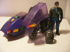 kenner MASK 1985 M.A.S.K. VENOM PIRANHA SLY RAX Side-car Complet