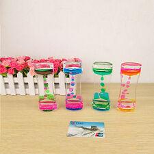 Liquid Floating Timer Desktop Motion Visual Clock Timer Hourglass Oil Drop Toys