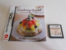 Cooking guide cant décider quoi manger NINTENDO DS/LITE/DSi