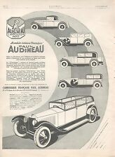 ▬► PUBLICITE ADVERTISING AD CAR VOITURE PAUL AUDINEAU CARROSSERIE FRANCAISE 1926