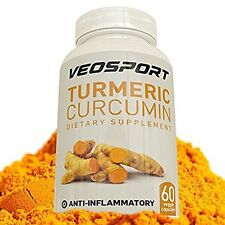 Turmeric Curcumin with BIOPERINE 500mg per Capsule Natural Inflammation and Join