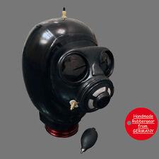 LATEX RUBBER studio GUM gas maschera-fatto su misura-tipo: bl07